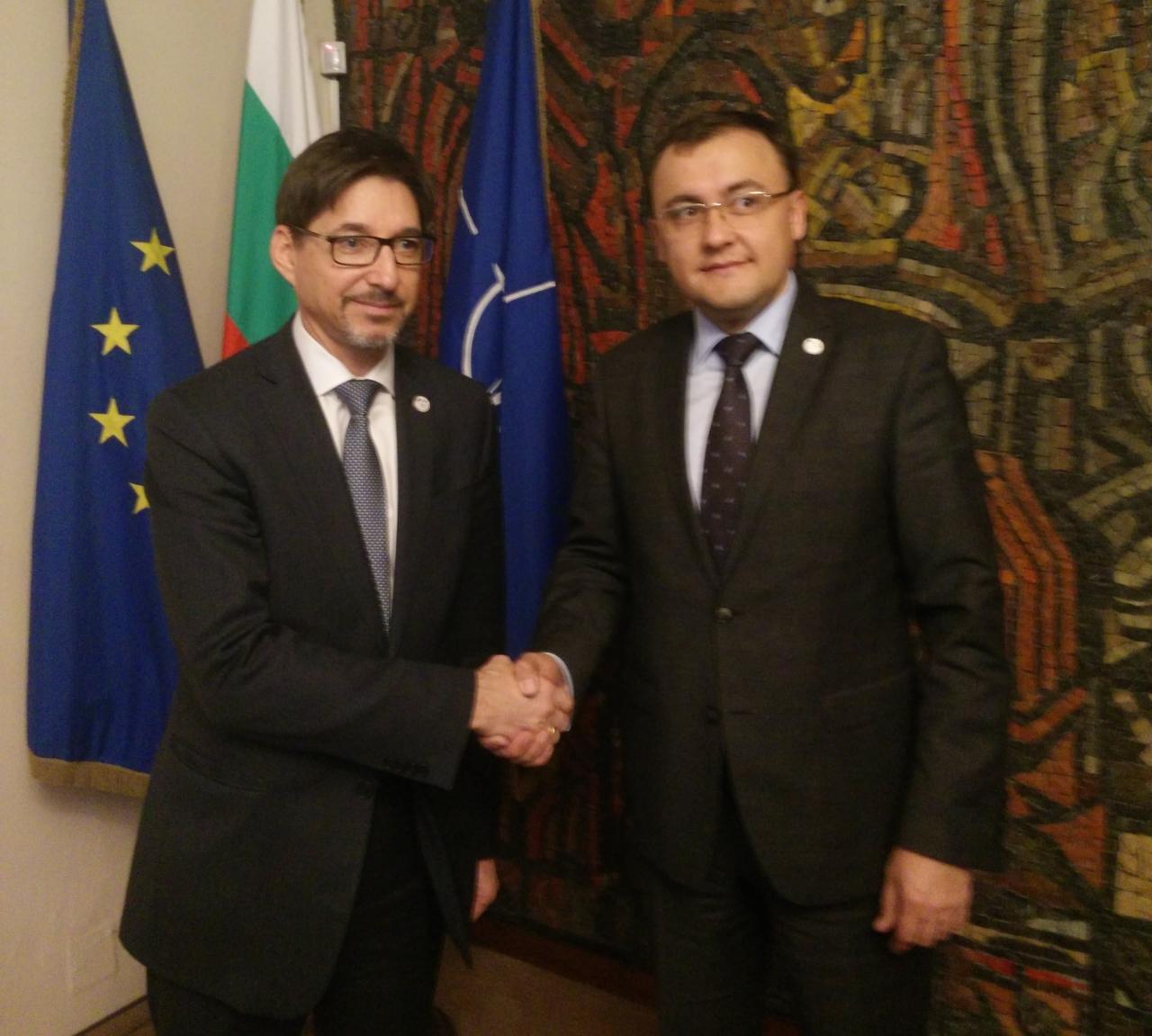 Юрий Щерк проведе политически консултации с украинския заместник външен министър Васил Боднар