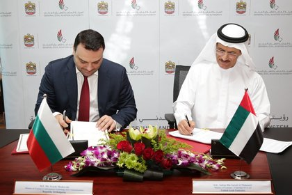 Minister Ivaylo Moskovski and he Minister of Economy of the United Arab Emirates Sultan Bin Saeed Al Mansoori signed a new Agreement on Air Transport
