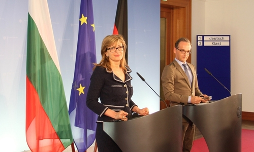 Ekaterina Zaharieva and her German Counterpart Heiko Maas: A Solution for Migration Can Only Be Found at the Level of the EU