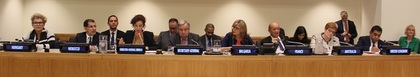 Minister Zaharieva participated in a conference against anti-semitism together with the UN Secretary-General