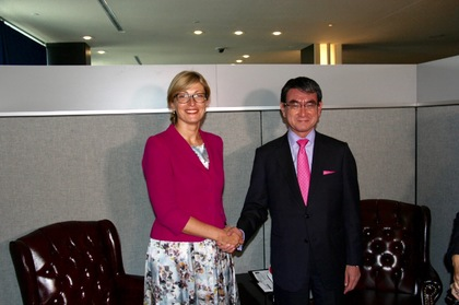The Deputy Prime Minister Ekaterina Zaharieva had a number of bilateral meetings in New York