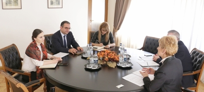 Meeting of Ambassador Pavlova with Tigran Khachatryan, Minister of Economic Development and Investments the Republic of Armenia
