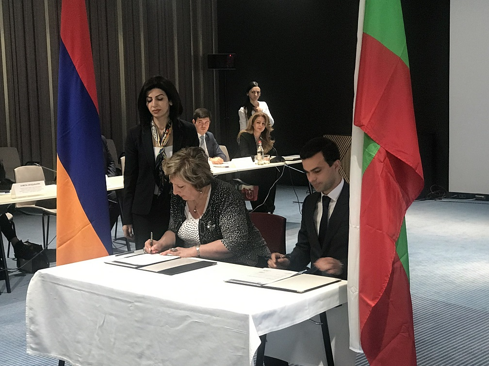 The 8th Session of the Bulgarian-Armenian Intergovernmental Commission on trade, economic and scientific cooperation