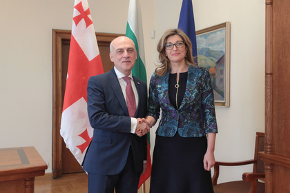 Ekaterina Zaharieva: Bulgaria will continue to support Georgia on its way to EU membership