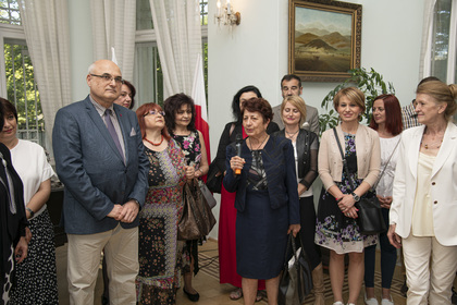 """Mystery of the Bulgarian Voices"" visited the Embassy of the Republic of Bulgaria in Warsaw"