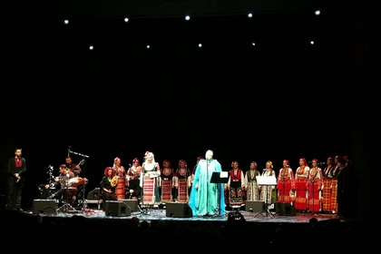 "Concert of the ""Mystery of Bulgarian Voices"" in Stockholm"