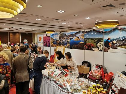 Bulgarian National Stand at the Christmas Charity Bazaar of the Diplomatic Corps - Warsaw, December 8, 2019