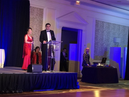 Ambassador Tihomir Stoytchev attended the Annual Gala of the Devotion to Children Foundation