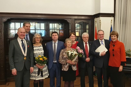 The King's Commissioner for Friesland and five distinguished Dutch citizens were rewarded for their contributions to the development of bilateral relations between Bulgaria and the Netherlands