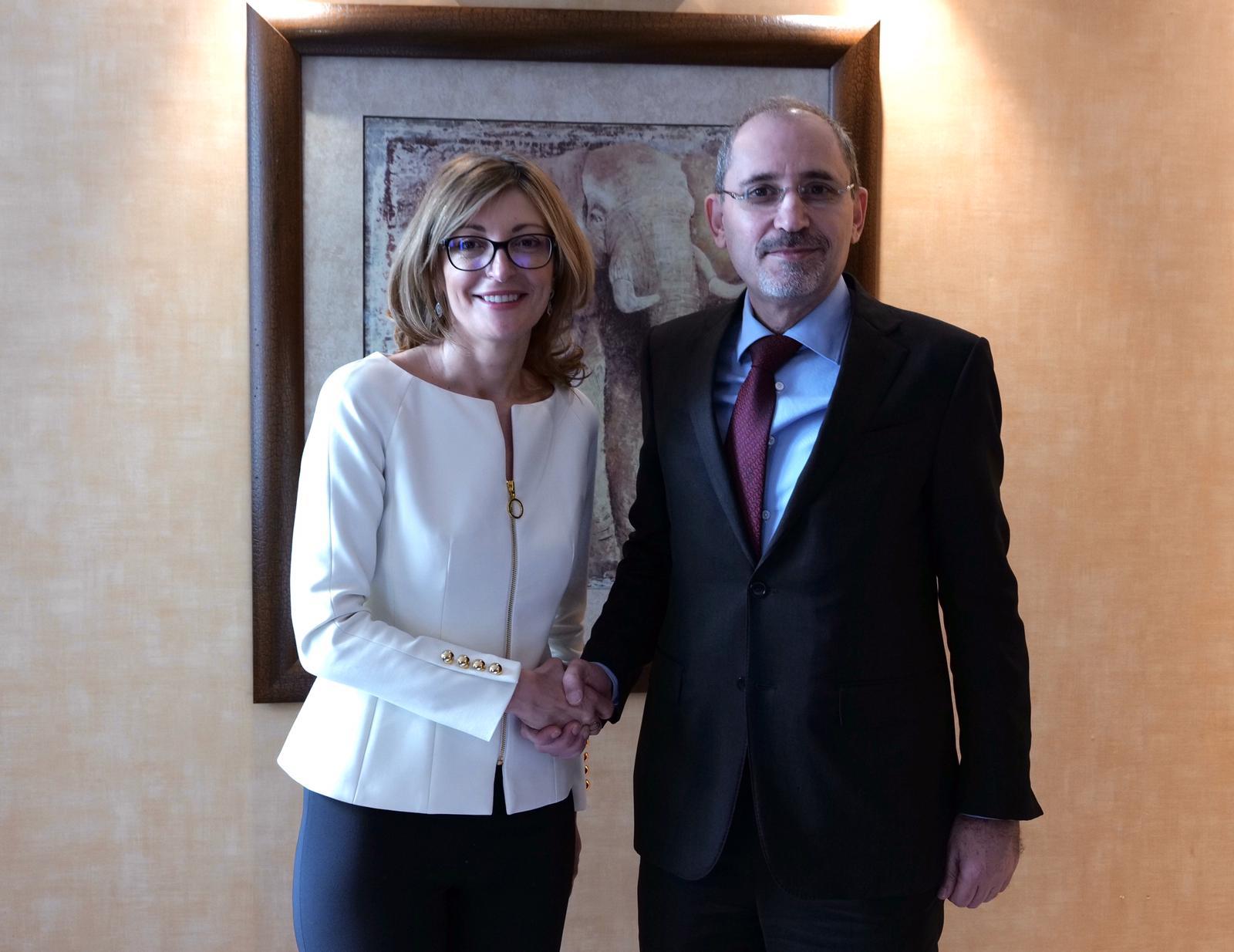 Първите дипломати на България и Йордания обсъдиха усилията за мирното разрешаване на конфликтите в Близкия изток