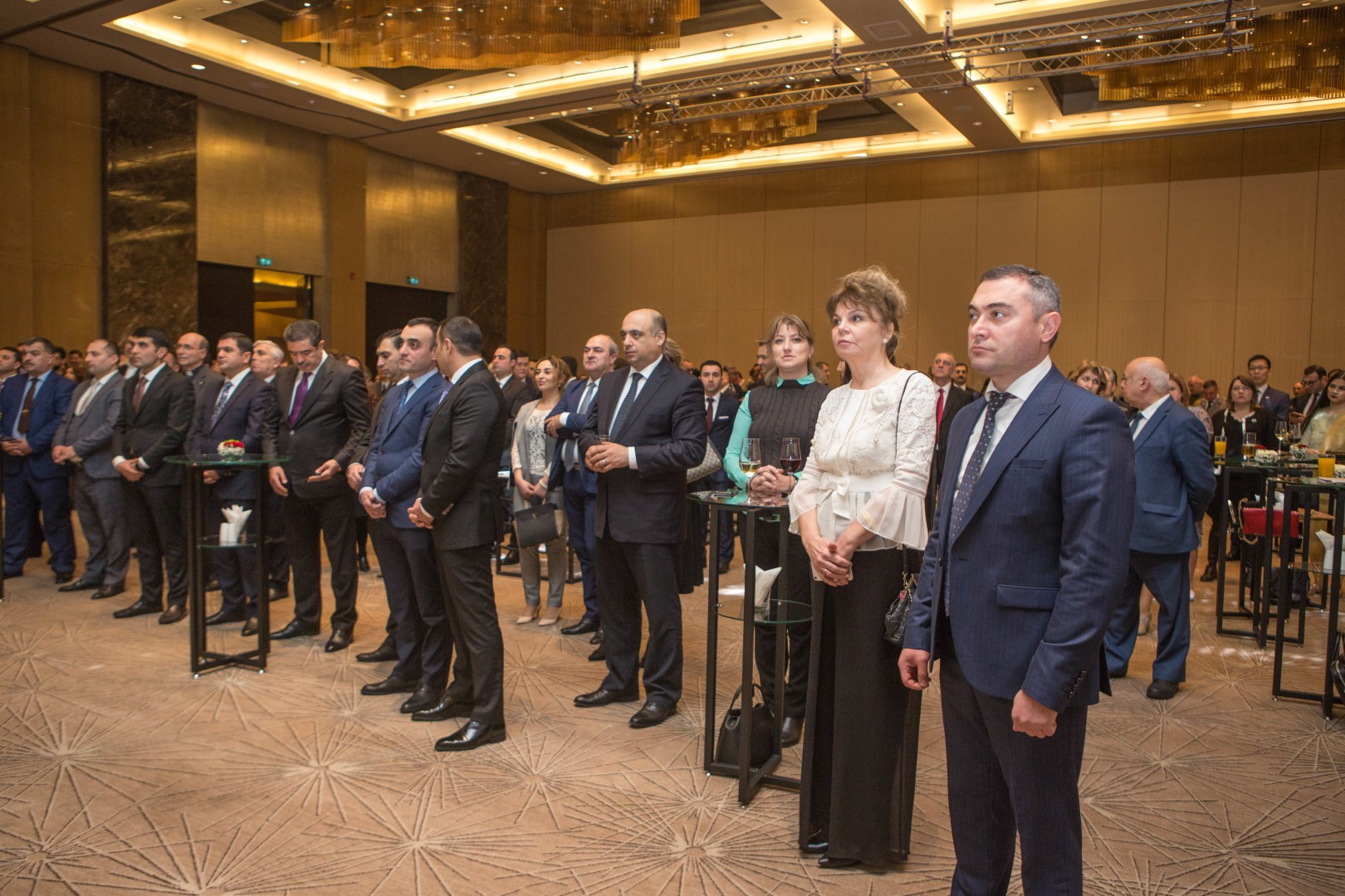 Celebration of the National Day of Bulgaria in Baku