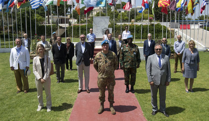 Visit of Ambassadors from the European Union to UNIFIL