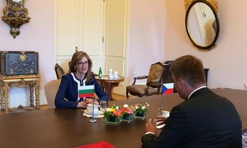 Ekaterina Zaharieva in Prague: It is Important that We do not Permit Another Closure of Internal Borders in the EU
