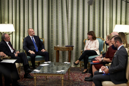 Visit of the Bulgarian President Rumen Radev to Athens